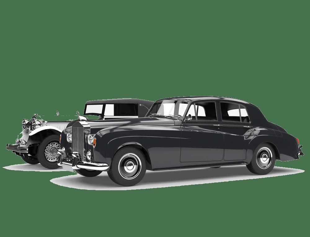 Oldtimer-Luxus-Verkauf